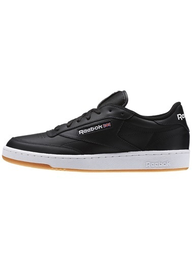 Reebok Erkek Siyah Club C 85  Sneakers AR0458 Siyah